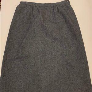 Pendleton virgin wool A-Line Skirt